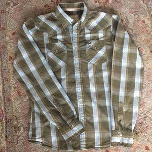 Holister Cotton Button Down Shirt. Size M